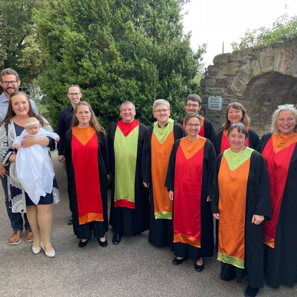 Gospelchor Children of Joy Auftritt bei Taufe in LE-Echterdingen 2021