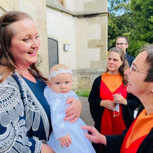 Gospelchor Children of Joy bei Taufen in Echterdingen